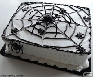 Puzzle Gâteau d'Halloween