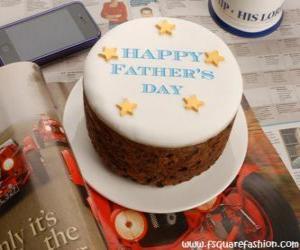 Puzzle Gâteau de la fête des pères