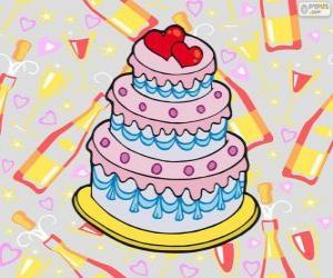 Puzzle Gâteau de mariage