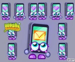 Puzzle Gabby est l'un de le Moshlings, la forme d'un iPhone ou un iPad. Série Tecno