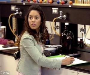 Puzzle Gabriella Montez dans le laboratoire