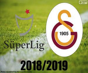 Puzzle Galatasaray, champion 2018-2019
