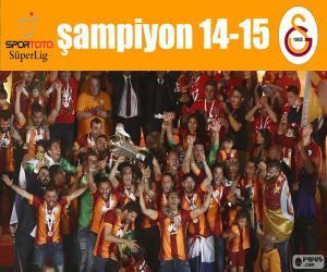 Puzzle Galatasaray, champion de 14-15