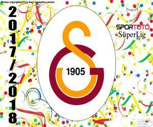 Puzzle Galatasaray, Süper Lig 2017-2018