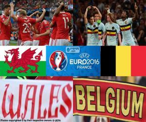 Puzzle Galles-BE quarts finale Euro 2016