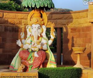 Puzzle Ganesh ou Ganesha