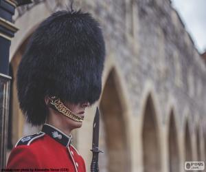 Puzzle Garde de la Reine, Londres