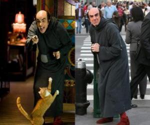 Puzzle Gargamel et son chat Azraël Schtroumpfs nous chercher à Manhattan