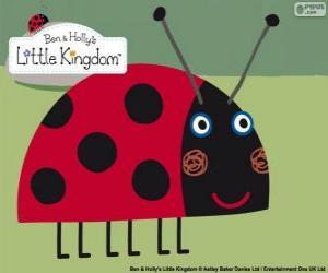 Puzzle Gaston la coccinelle, le meilleur ami insecte de Ben et Holly