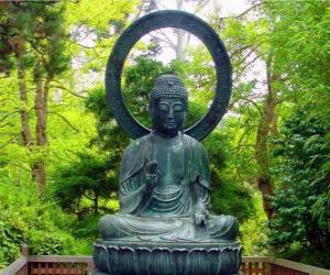 Puzzle Gautama Bouddha assis