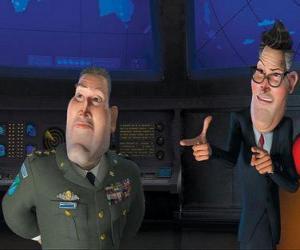 Puzzle Général Monger avec le Président Hathaway