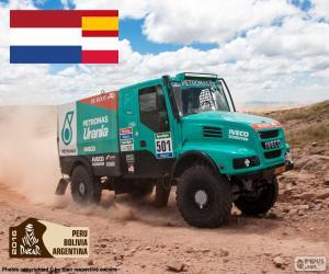 Puzzle Gerard de Rooy, Dakar 2016