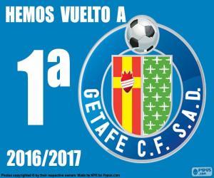 Puzzle Getafe CF 2016-2017