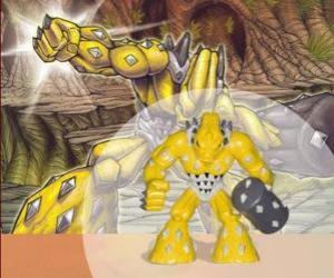 Puzzle Gheos le seigneur tout puissant (Serie 1) (Terre) (Puissance 9)