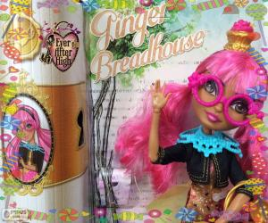 Puzzle Ginger Breadhouse Ever After High