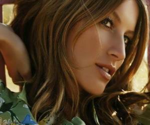 Puzzle Gisele Bündchen, modèle et actrice brésilienne