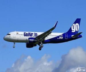 Puzzle GoAir compagnies aériennes low cost Inde