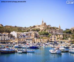 Puzzle Goajnsielem, Gozo, Malte