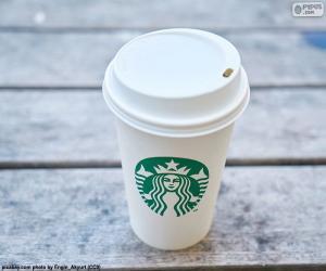 Puzzle Gobelet Starbucks
