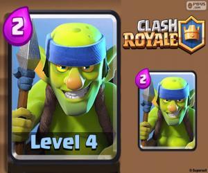 Puzzle Gobelins à lances de Clash Royale