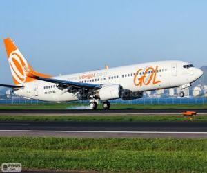 Puzzle GOL Transportes Aéreos est une compagnie aérienne brésilienne
