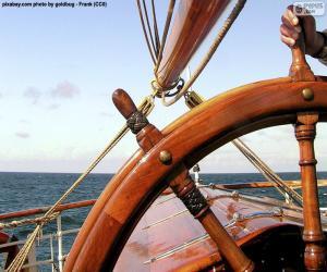 Puzzle Gouvernail de bateau
