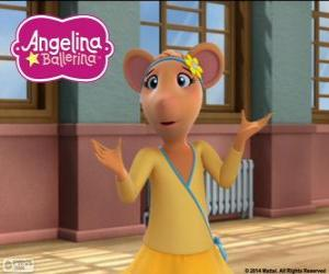 Puzzle Gracie, personnage de Angelina Ballerina