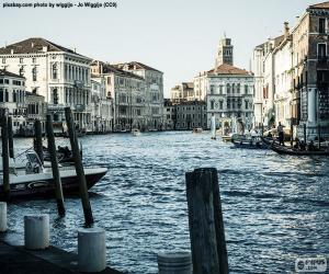Puzzle Grand Canal de Venise, Italie