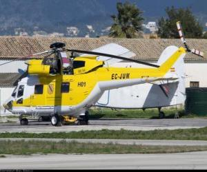 Puzzle Grand hélicoptère