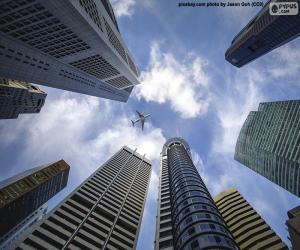 Puzzle Gratte-ciel de Singapour