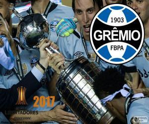 Puzzle Gremio, champion de la Libertadores 2017