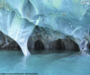 Puzzle Grottes de marbre, Chili