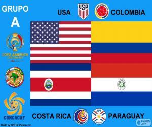 Puzzle Groupe A, Copa América centenario