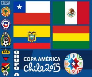 Puzzle Groupe A, Copa America 2015