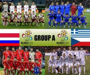 Puzzle Groupe A - Euro 2012-