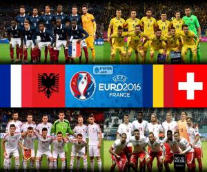 Puzzle Groupe A, Euro 2016