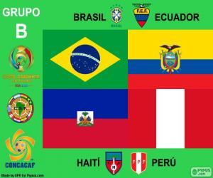 Puzzle Groupe B, Copa América Centenario