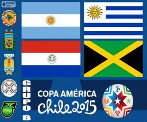Puzzle Groupe B, Copa America 2015