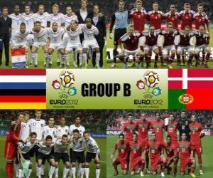 Puzzle Groupe B - Euro 2012-