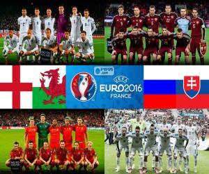 Puzzle Groupe B, Euro 2016