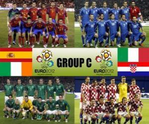 Puzzle Groupe C - Euro 2012-