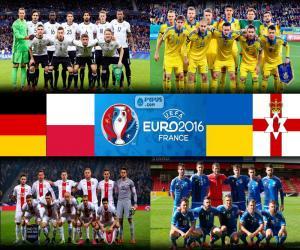 Puzzle Groupe C, Euro 2016