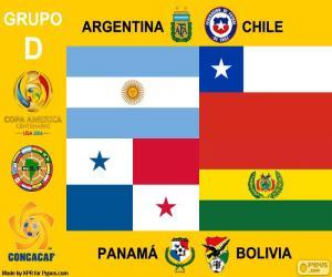 Puzzle Groupe D, Copa América Centenario
