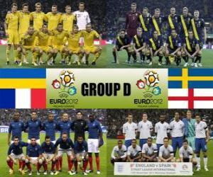 Puzzle Groupe D - Euro 2012-