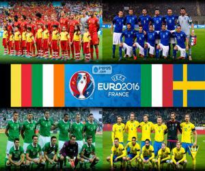 Puzzle Groupe E, Euro 2016