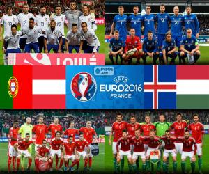 Puzzle Groupe F, Euro 2016