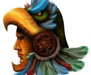 Puzzle Guerrier aztèque