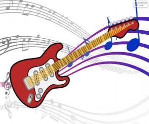 Puzzle Guitare électrique