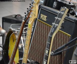 Puzzle Guitares et amplificateur