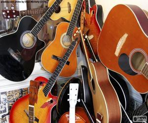Puzzle Guitares